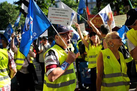 Streik bei PSA