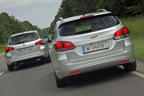 Chevrolet Cruze Opel Astra
