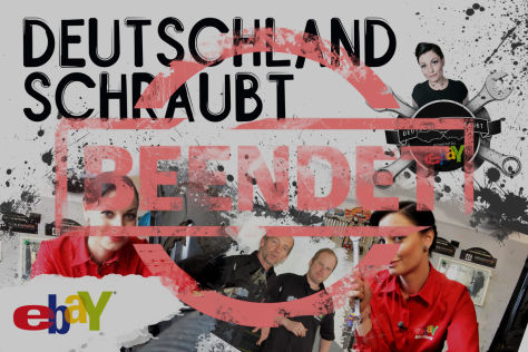 eBay-Partneraktion: DEUTSCHLAND SCHRAUBT