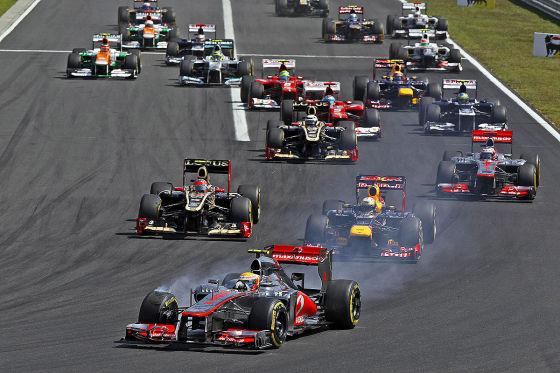 Formel 1 GP Ungarn 2012