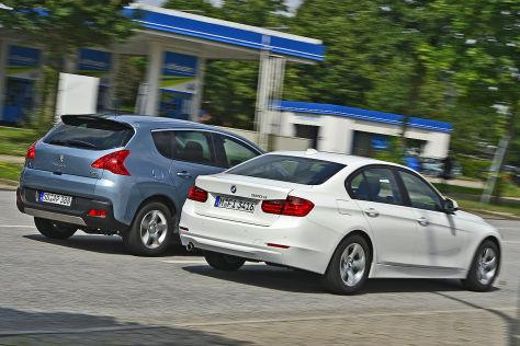BMW 320d ED Peugeot 3008 Hybrid