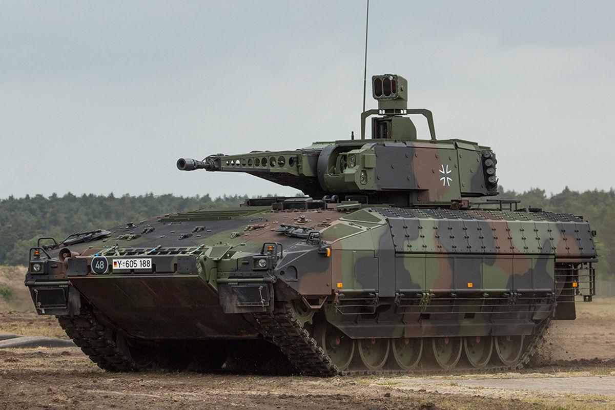 puma panzer auslieferung