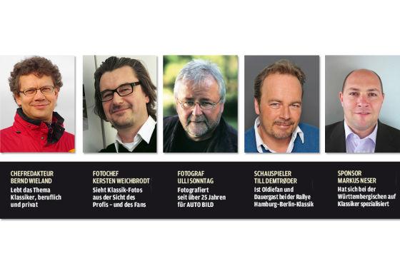 Die Jury des AUTO BILD KLASSIK Fotowettbewerbs