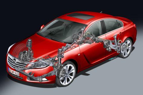Opel Insignia Sport-Fahrwerk