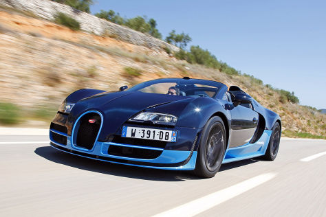 Bugatti Veyron Grand Sport Vitesse im Fahrbericht ...
