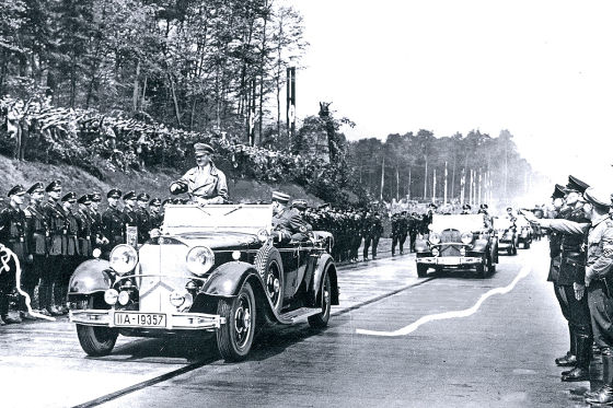 Adolf Hitler Mercedes 770 K