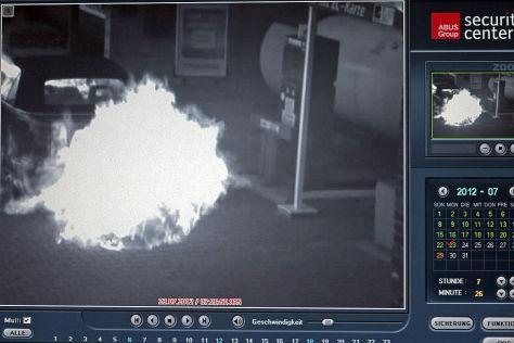 Explosion nach Autogas-Betankung