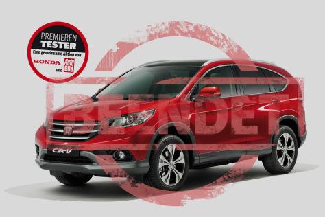 Premierentester Honda CR-V