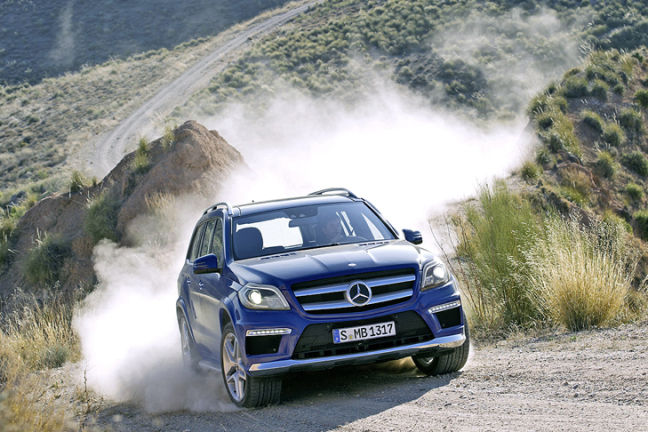 Video: Mercedes GL 2012