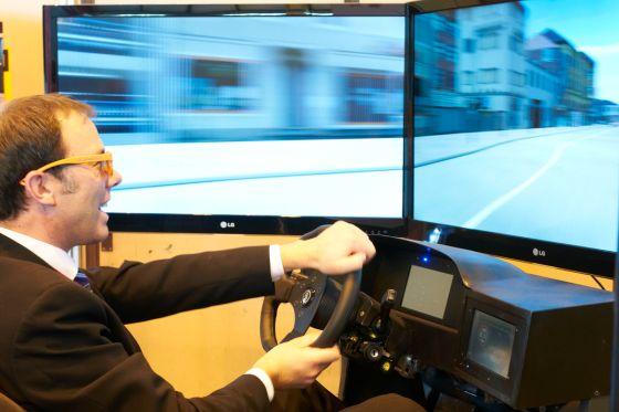 simTD Forschungsprojekt Car-to-X 2012