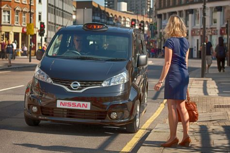 Nissan NV200 als Taxi London Black Cab