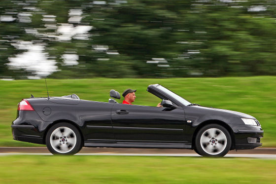 saab 9 3 cabrio gebrauchtwagen test. Black Bedroom Furniture Sets. Home Design Ideas