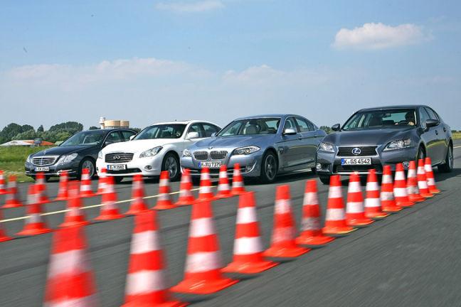 Video: Infiniti, BMW, Lexus, Mercedes