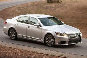 Lexus LS Facelift: Autosalon Paris 2012