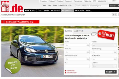 autobild.de-Gebrauchtwagenmarkt