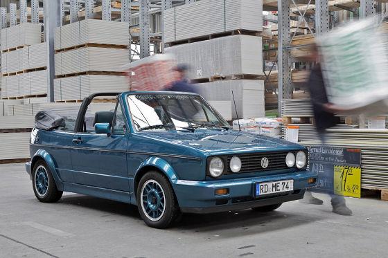 klassiker f r 5000 euro golf i cabriolet auto bild klassik. Black Bedroom Furniture Sets. Home Design Ideas
