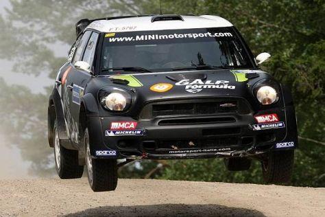 Armindo Araujo wird in Deutschland die neue aktuellste MINI-Version fahren