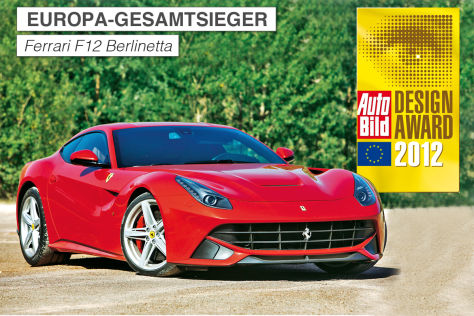 AUTO BILD Design Award 2012