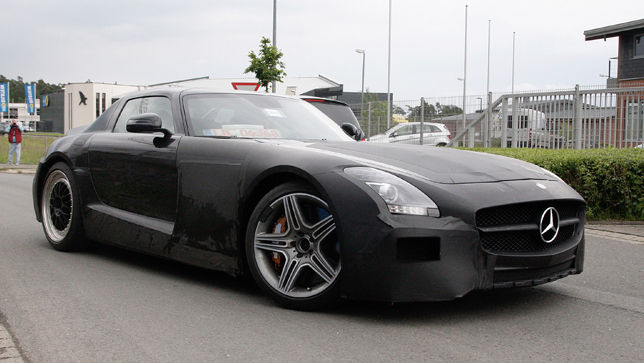 video mercedes sls amg black series. Black Bedroom Furniture Sets. Home Design Ideas