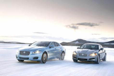 Jaguar XF und XJ mit Allrad