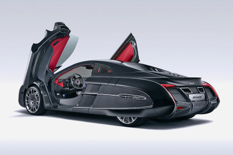 McLaren X-1 Concept: Pebble Beach 2012