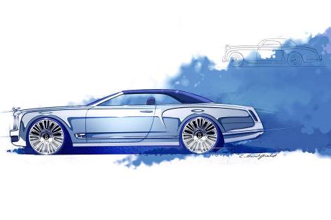 Bentley Mulsanne Cabriolet Konzept: Vorstellung