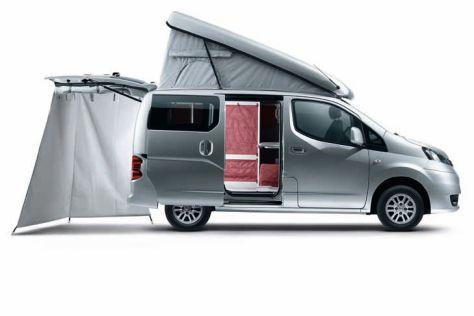 Nissan NV200 Evalia Stadtindianer: Vorstellung