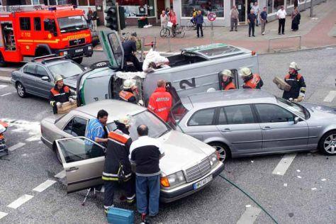 Unfallstatistik: Erstes Halbjahr 2012