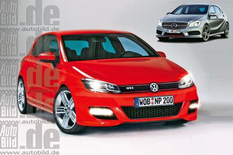 VW Golf GTI gegen Mercedes A 250 AMG und neun weitere Duelle