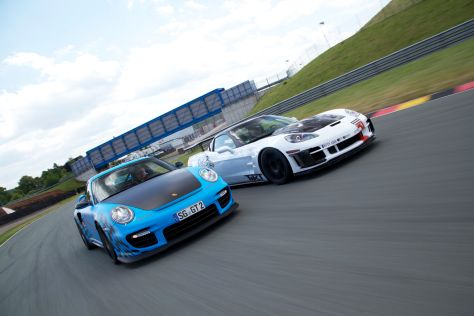 Wimmer GT2 RS vs Tikt Corvette ZR1 Triple X