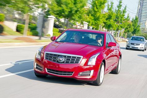 Cadillac ATS: Autosalon Paris 2012