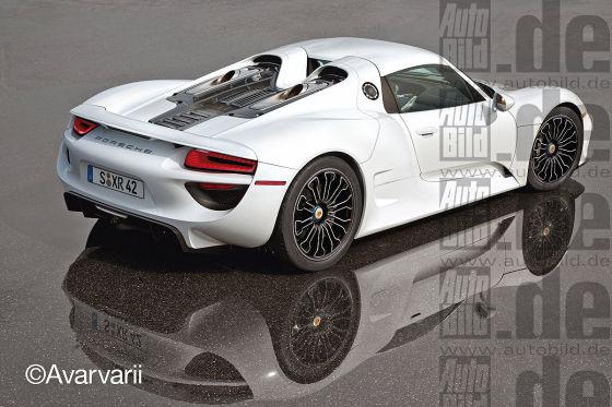 Porsche 918 Spyder Serienversion