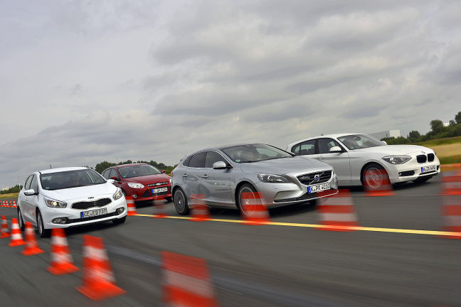 Video: Ford Focus, Kia cee'd, Volvo V40, BMW 116d
