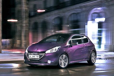 Peugeot 208 XY: Paris 2012