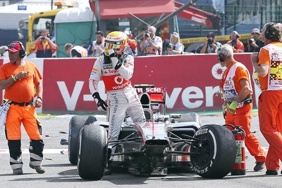 Formel 1 Spa GP 2012