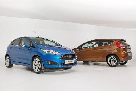 Ford Fiesta (2012): Sitzprobe