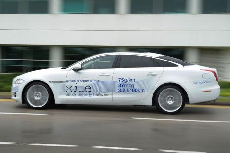 Jaguar XJ_e Plug-in-Hybridstudie