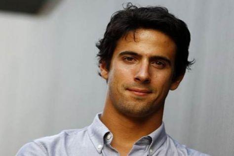 Lucas di Grassi saß in der vergangenen Woche erstmals im Prototyp der Formel E