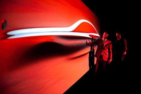 Mercedes S-Klasse (2013): Kunstprojekt