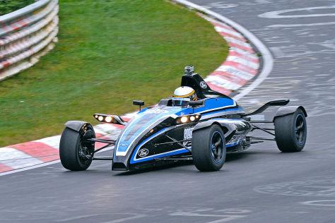 Ford Formel-Rennwagen mit Ecoboost-Motor