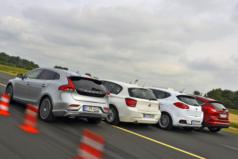 BMW 1er Ford Focus Kia cee'd Volvo V40