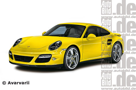 Porsche 911 Turbo Illustration