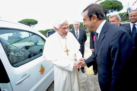 Renault Kangoo Maxi Z.E. für Papst Benedikt XVI.
