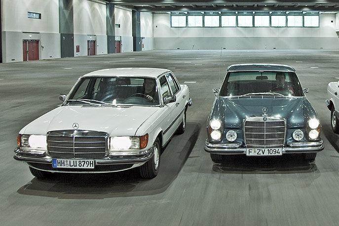40 jahre mercedes s klasse bilder for Mercedes benz calabasas ca