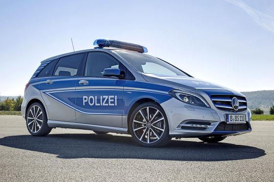 Mercedes B-Klasse Polizei