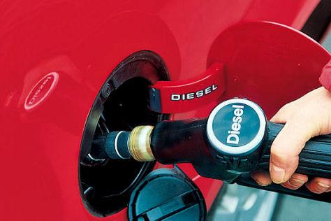 Spritkosten: ADAC Diesel-Studie