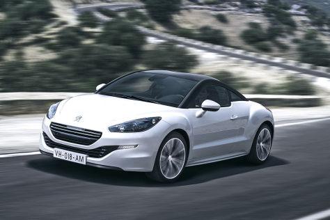 Peugeot RCZ Facelift 2013