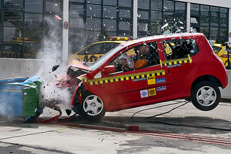 ADAC-Crashtest September 2012