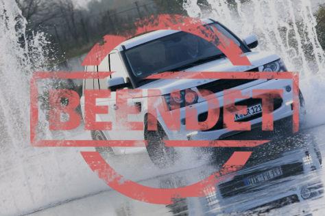 Land Rover-Fahrtraining
