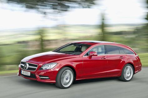 Mercedes CLS Shooting Brake: Fahrbericht